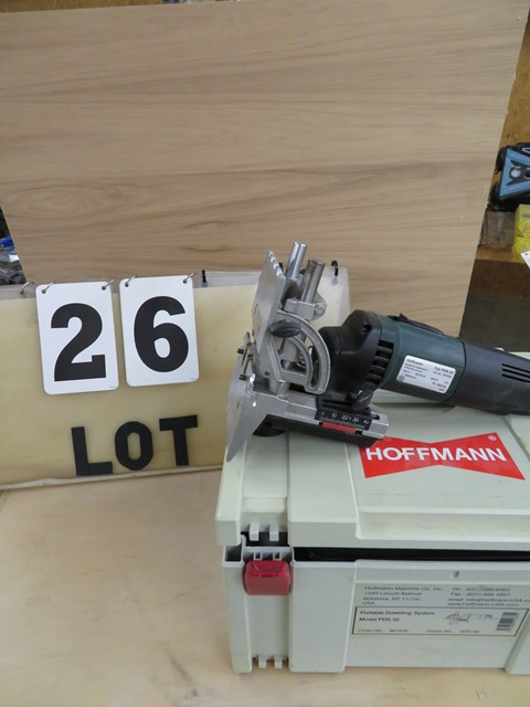 Lot 26 - Hoffman Typ PDS-32 Portable Doweling System