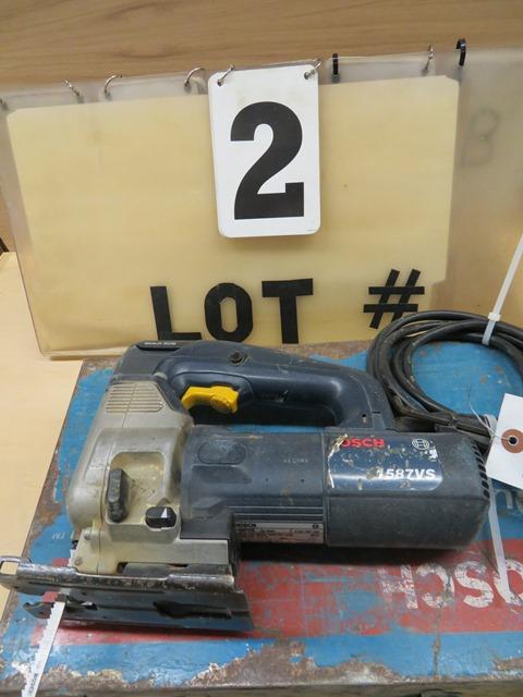 Lot 2 - Bosch 1587 VS Jig Saw