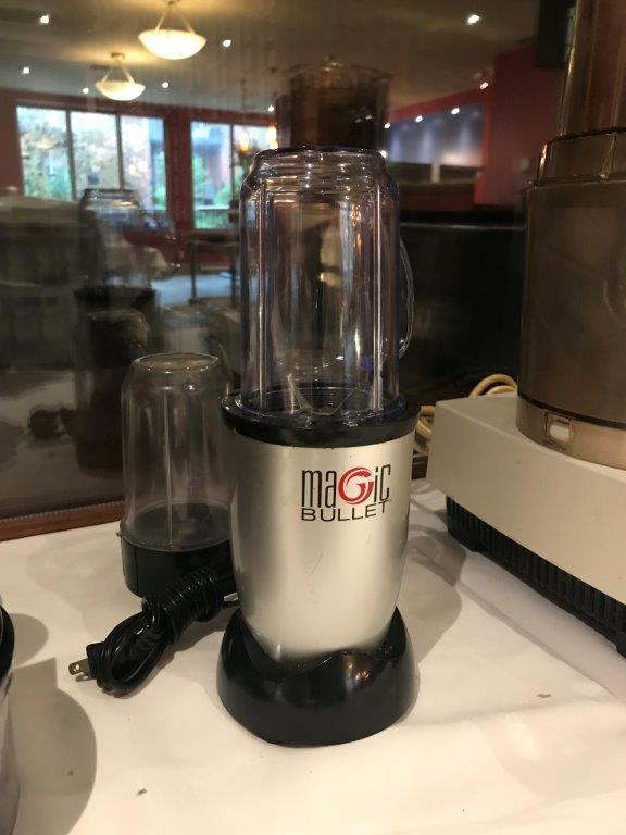 Lot 1077 - Magic Bullet food preparing machine