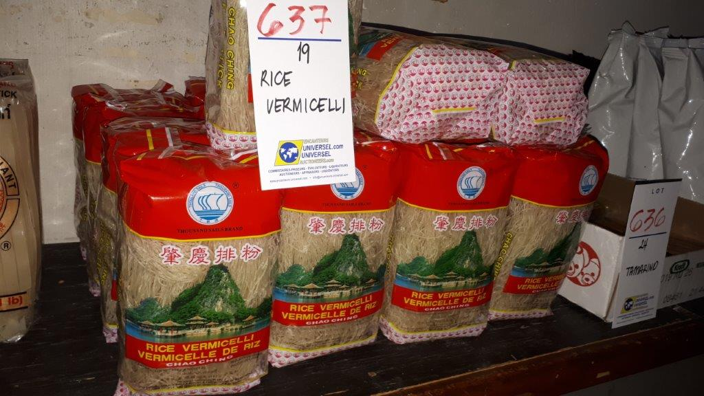 Lot 637 - Rice vermicelli