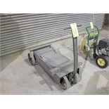 "STEEL CART, 42"" x 16"", 4-wheel"