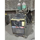 PLASMA CUTTER, HOBART SMOOTHCUT MDL. 120, 120 amps, running gear & torch