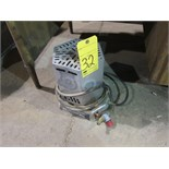 PROPANE HEATER, 15 BTU to 25,000 BTU