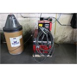 Lincoln Electric CV 300 Arc Welder S/N U1950908102 with Lincoln Electric LN-7 Wire Feeder S/N