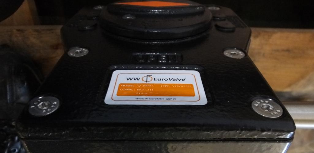 """Lot 8 - Wouter & Witzel Eurovalve 250 10"""" CF8M 1.4408 50 SR1 F50755 2"""