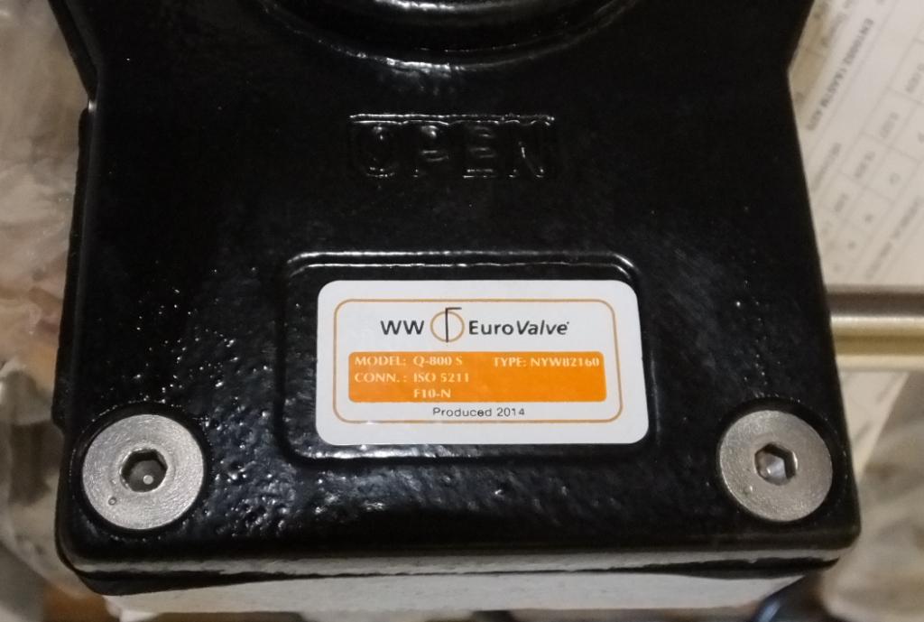 """Lot 5 - Wouter & Witzel Eurovalve 150 6"""" CF8M 1 4408 50 SR1 F50547"""
