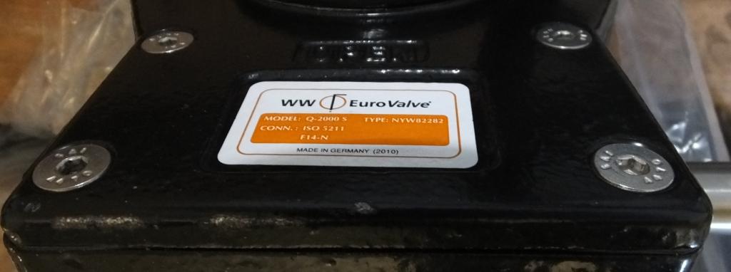 """Lot 7 - Wouter & Witzel Eurovalve 250 10"""" CF8M 1.4408 50 SR1 F50755 1"""