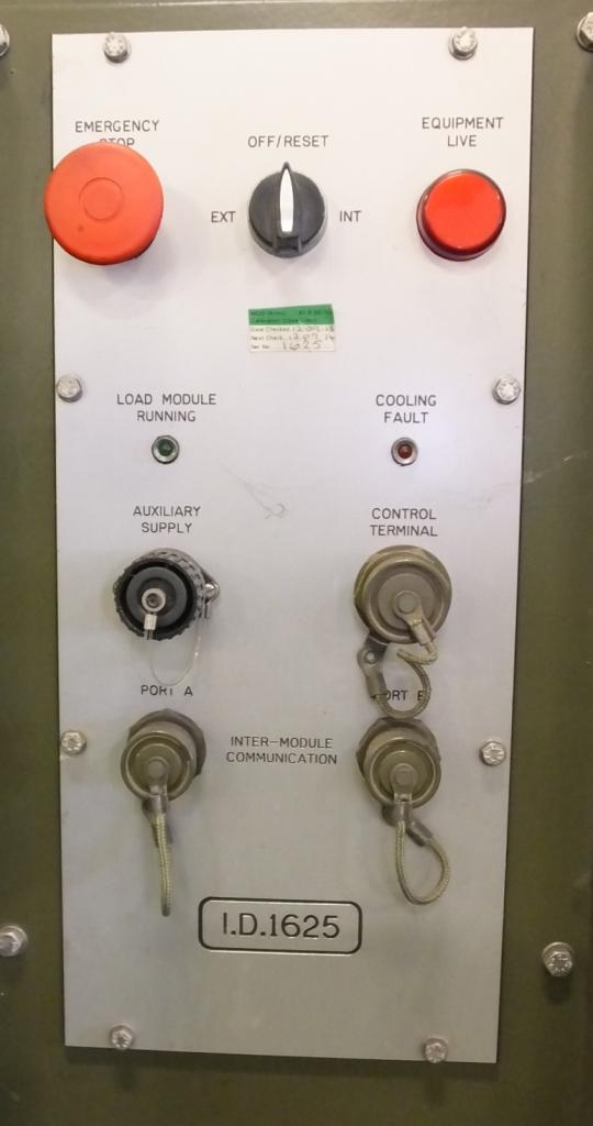 Lot 21 - Crestchic Def 60 type 3 Dummy load Electrical 60KW - NSN X2 / 6625-99-573-7719