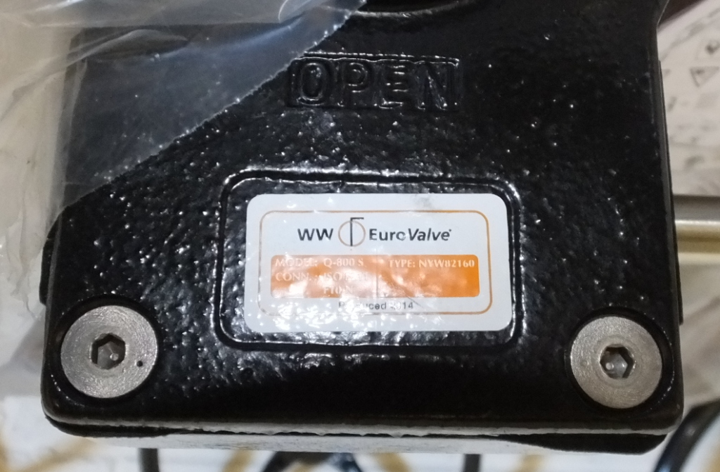"""Lot 6 - Wouter & Witzel Eurovalve 150 6"""" CF8M 1 4408 50 SR1 F50547"""