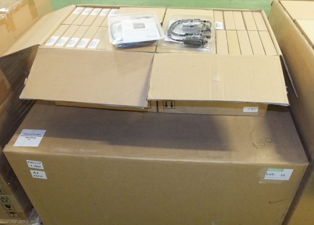 Lot 58 - 200x Esrerline Frontier 1000 Communication Headset System RA5500 / 1020 NSN 5965-99-733-36
