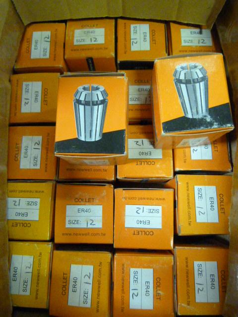 Lot 3d - 22 Erho 12mm Collets