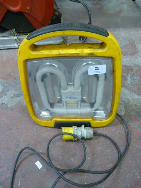 Lot 25 - *Single Phase Industrial Lamp