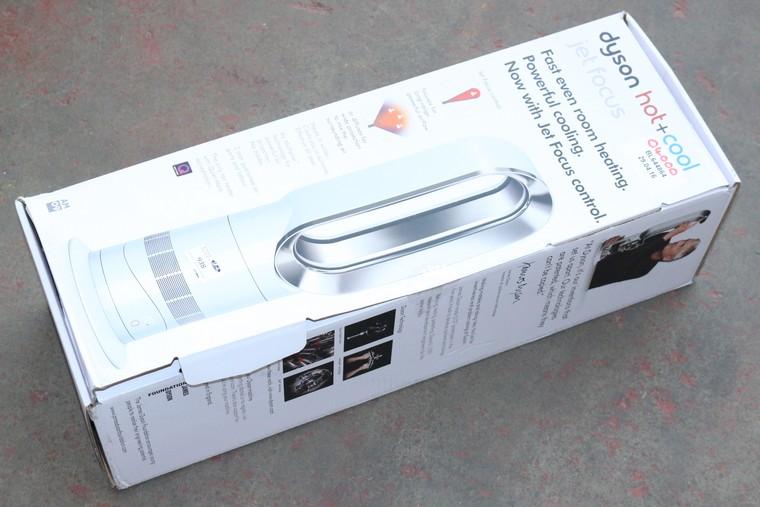 1 x boxed dyson hot plus cool jet focus am09 floor fan rrp. Black Bedroom Furniture Sets. Home Design Ideas
