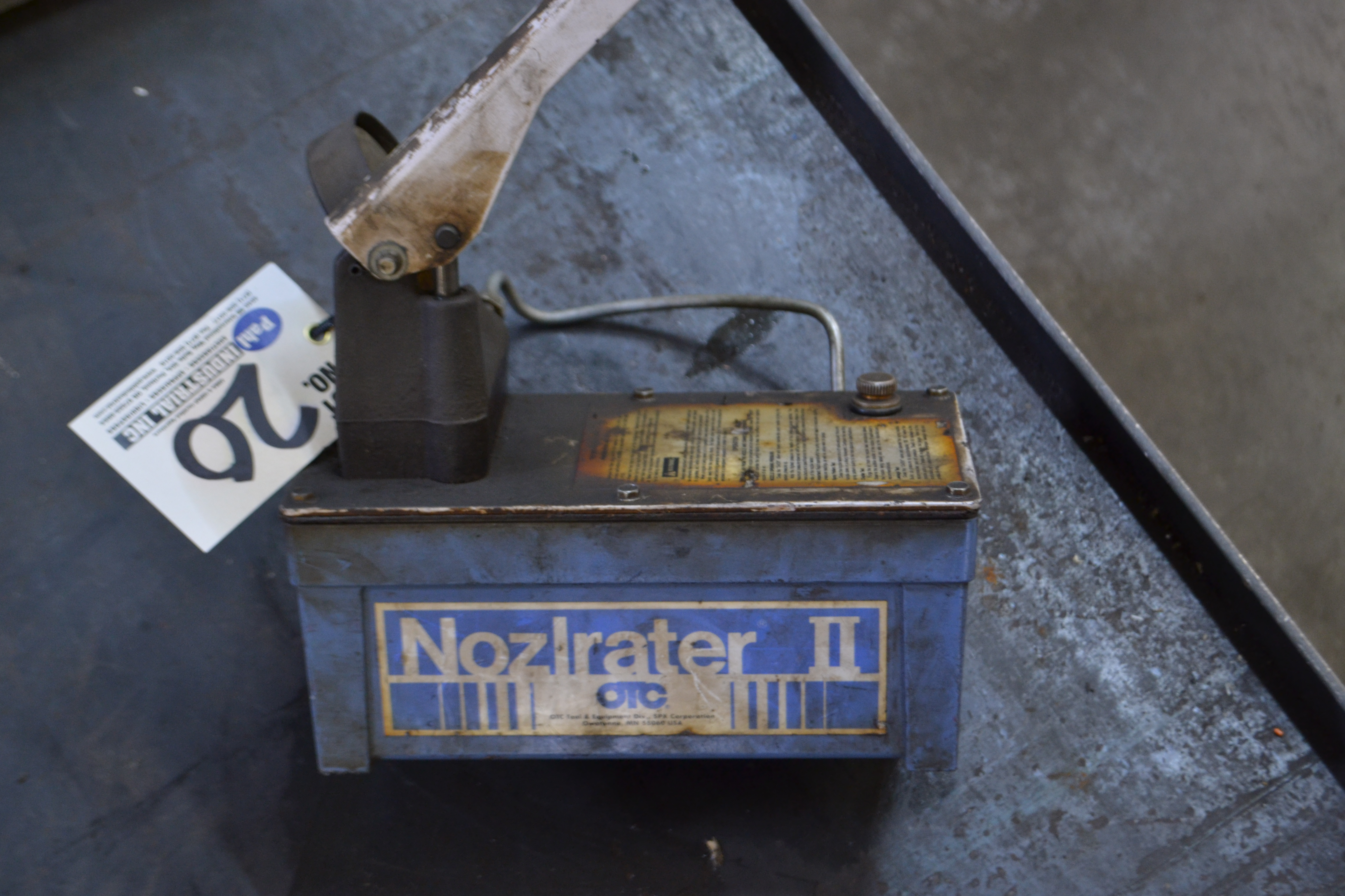 Lot 20 - OTC Nozlrater II Injector Nozzle Tester