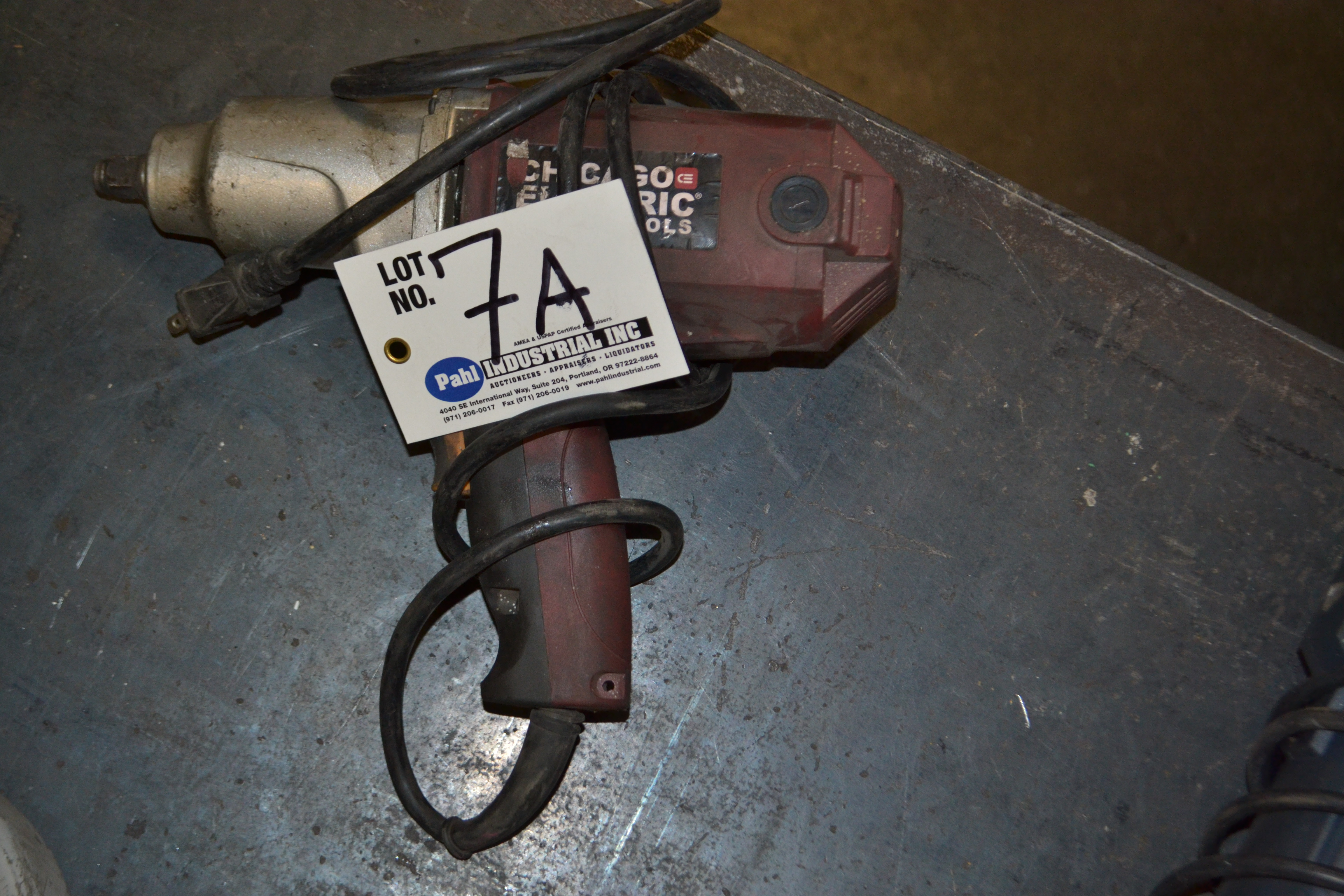 """Lot 7A - Chicago Electric Power Tools 1/2"""" Impact Wrench"""