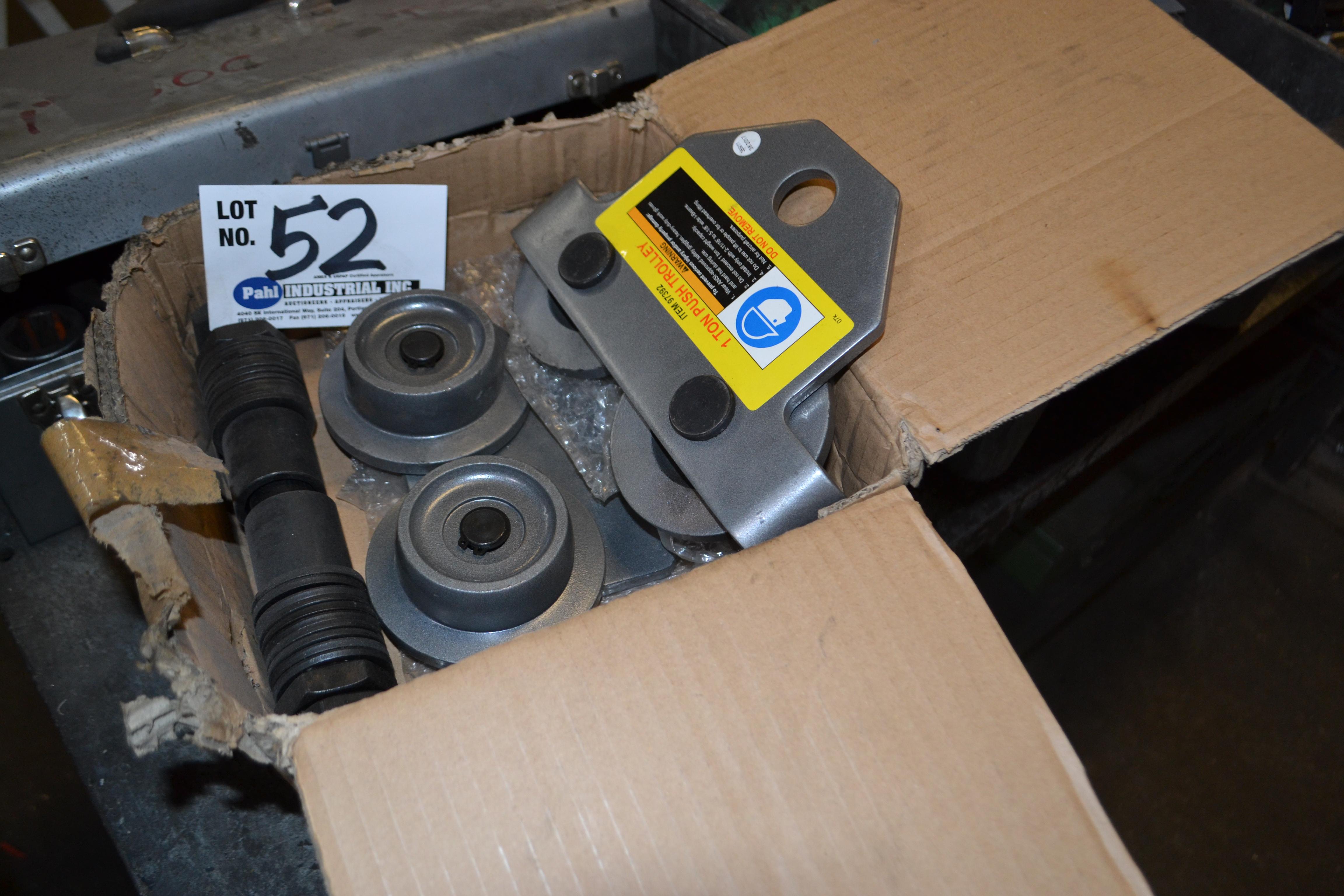 Lot 52 - 1-Ton Push Trolley Kit New In Box