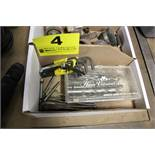 ASSORTED DRILL BITS, BORING BITS AND ALLEN WRENCHES IN BOX