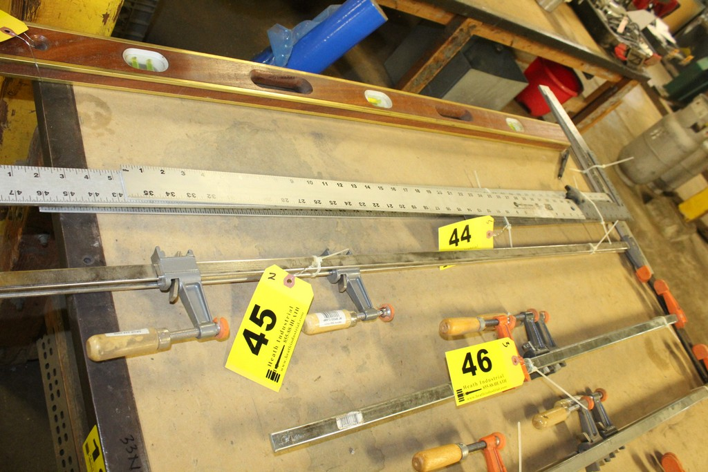 """(2) BAR CLAMPS, 48"""""""