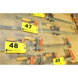 """(3) BAR CLAMPS, 24"""""""
