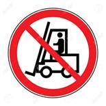 There will NOT be a forklift available for loading your purchases