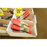 """(6) 3"""" SPRING CLAMPS IN TWO BOXES"""