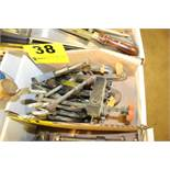 ASSORTED C-CLAMPS IN BOX