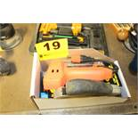 ARROW MODEL ETF50-BN ELECTRIC AND BLACK & DECKER POWER SHOT STAPLE GUNS AND SUPPLIES IN BOX