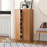 Boxed Zapatero Mercury Row 21 Pair Shoe Storage Cabinet RRP £90 (18427) (Appraisals Available Upon