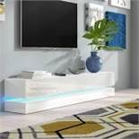 Boxed Metro Lane 48 White Inch TV Entertainment Stand RRP £180 (17893) (Appraisals Available Upon