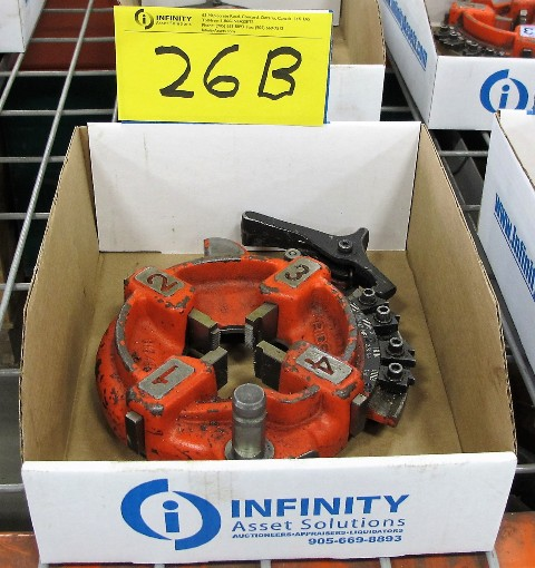 "Lot 26B - RIDGID 1/8"" - 3/4"" QUICK SET PIPE DIE"