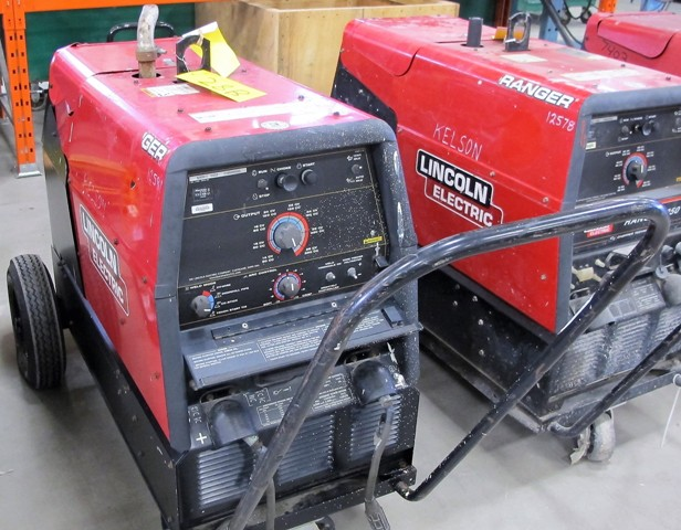 Lot 28B - LINCOLN ELECTRIC PROPANE POWERED ARC WELDER, S/N U-1091000243