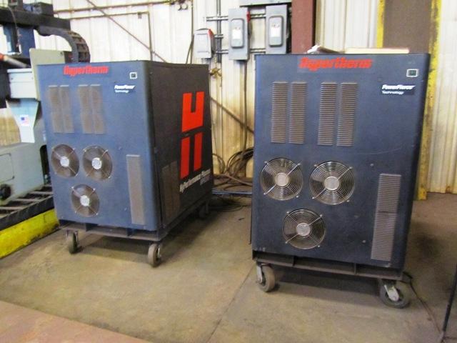 Lot 46 - Alltra Model PG 14-16 16' x 45' High-Definition CNC Plasma Burning Machine with (2) Plasma