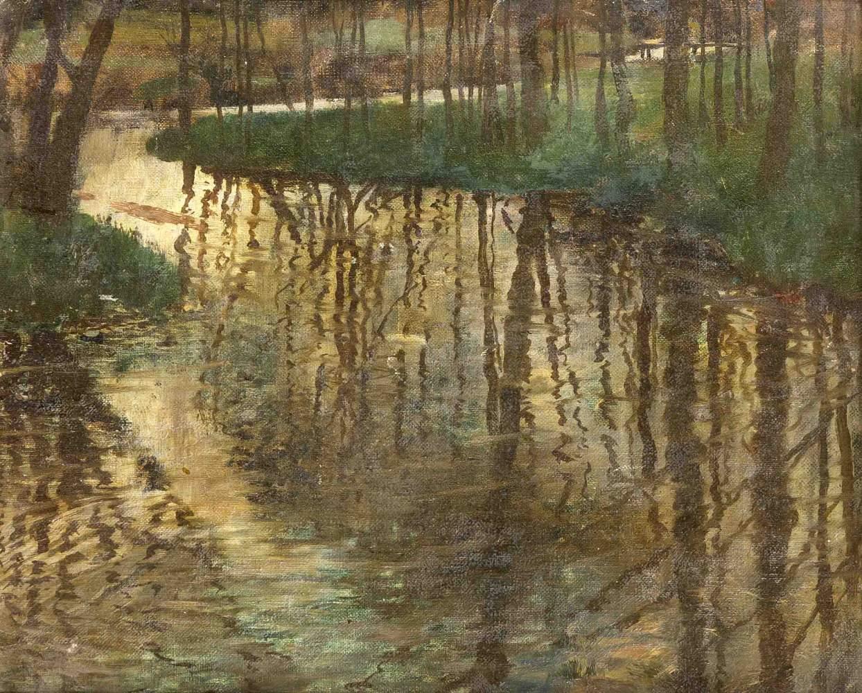Lot 1285 - Heinrich Basedow (1865-1930), Berliner Maler, studierte an der Akademie in Berlin unterEugen