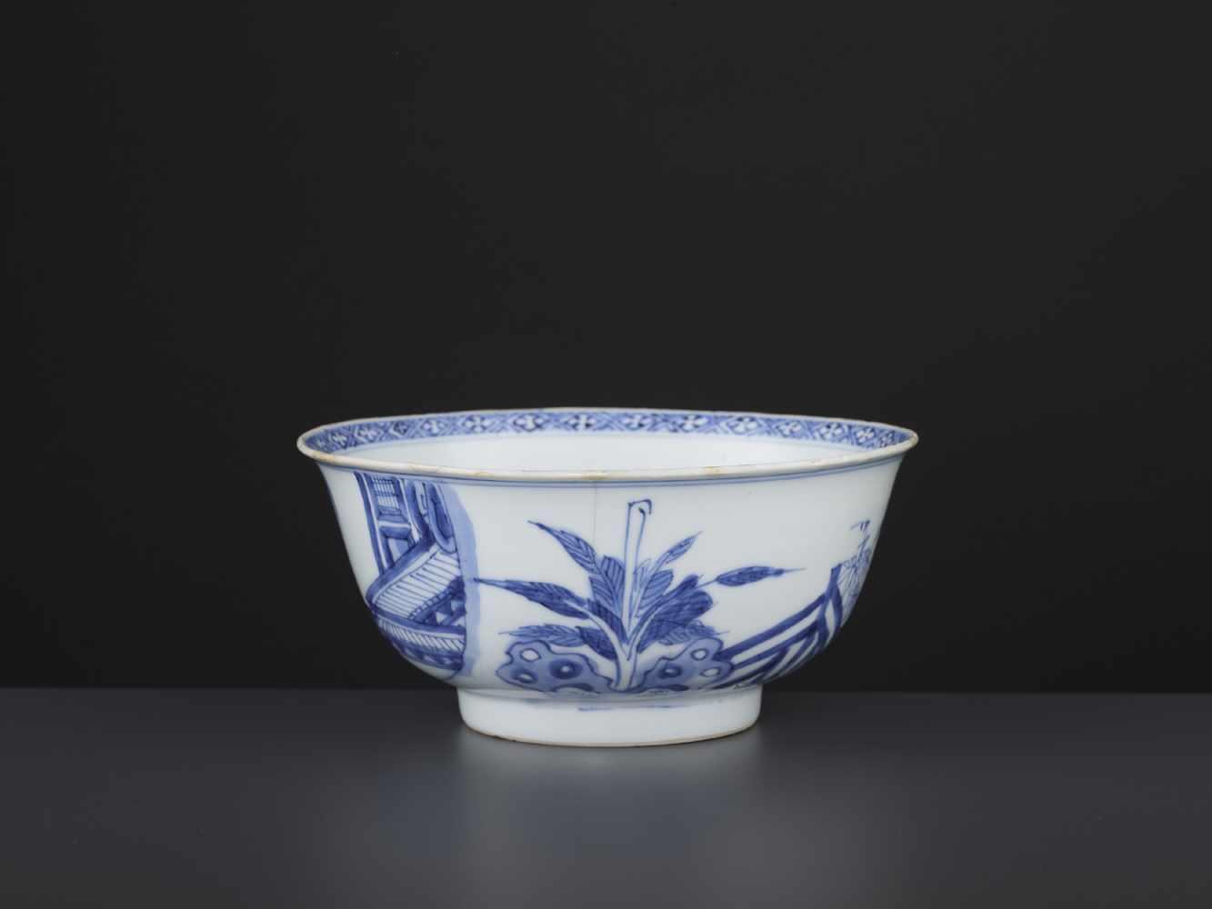 A BLUE & WHITE BOWL, KANGXI - Bild 4 aus 9