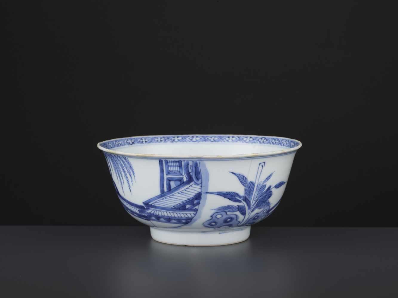 A BLUE & WHITE BOWL, KANGXI - Bild 3 aus 9
