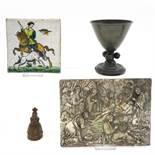 A Diverse Collection of Collectible Religious Items