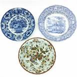 Three Diverse Plates