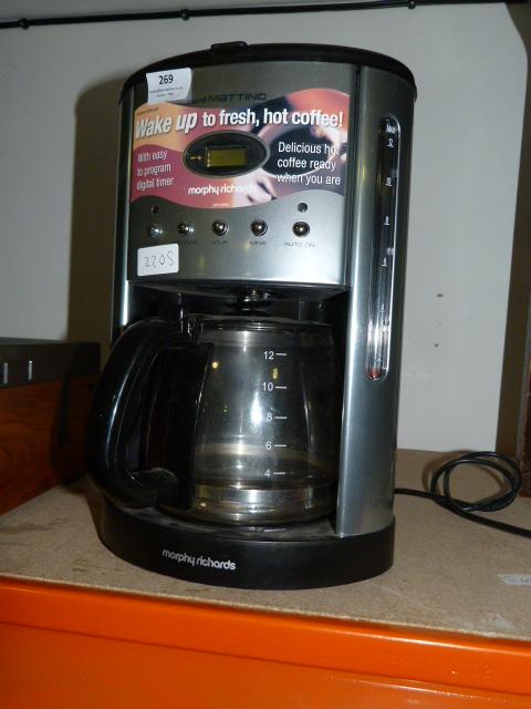 Morphy Richards Cafe Mattino Coffee Percolator