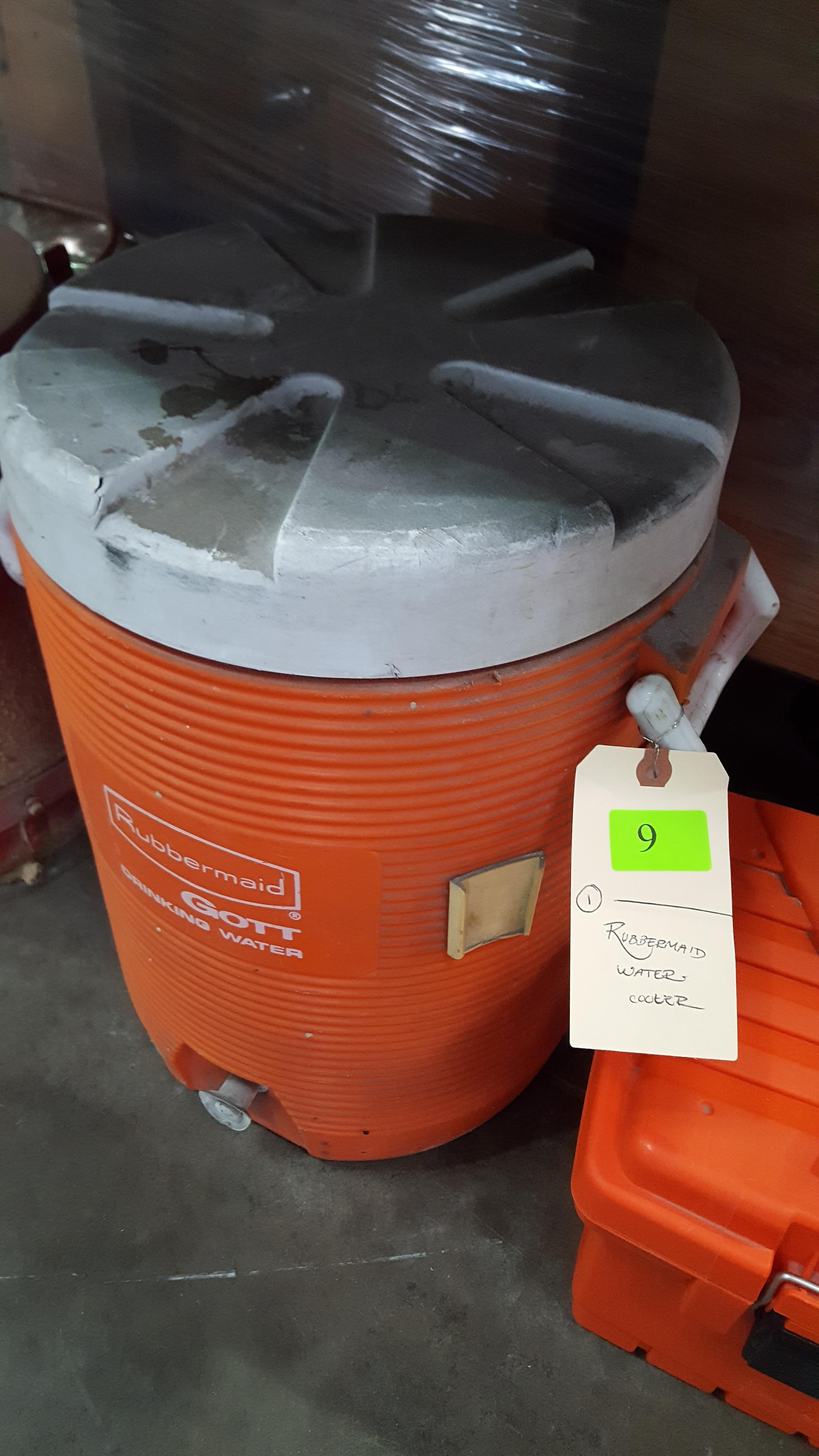 RUBBERMAID WATER COOLER