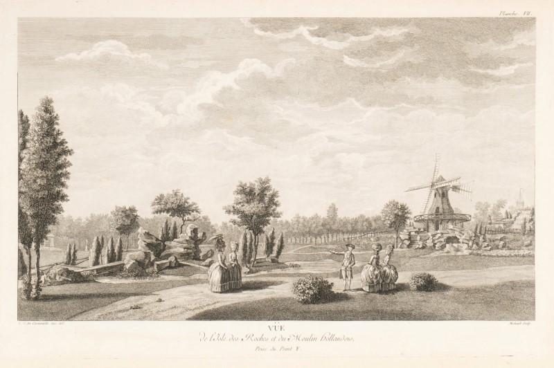 CARMONTEL. Jardin de Monceau près de Paris.... Paris. 1779. 1 vol. in-folio