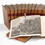 COOK (Capitaine James). [Voyages autour du monde.]. 1774 à 1785. 13 vol. in-4°