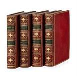 ARIOSTE (Ludovic). Roland Furieux. Poème héroïque de l'Arioste. Paris. Brunet. 1775-1783. 4 vol. in-