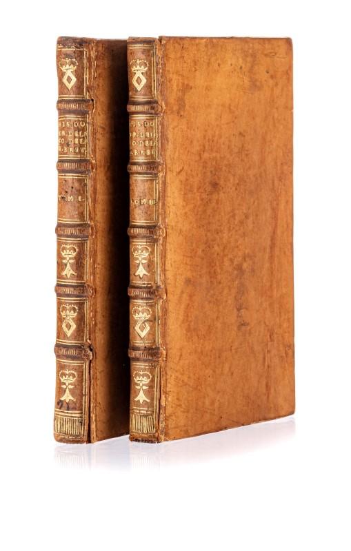 HARBIN. Histoire du droit héréditaire de la Couronne de Grande Bretagne. La Haye. 1714. 2 vol. in-8°