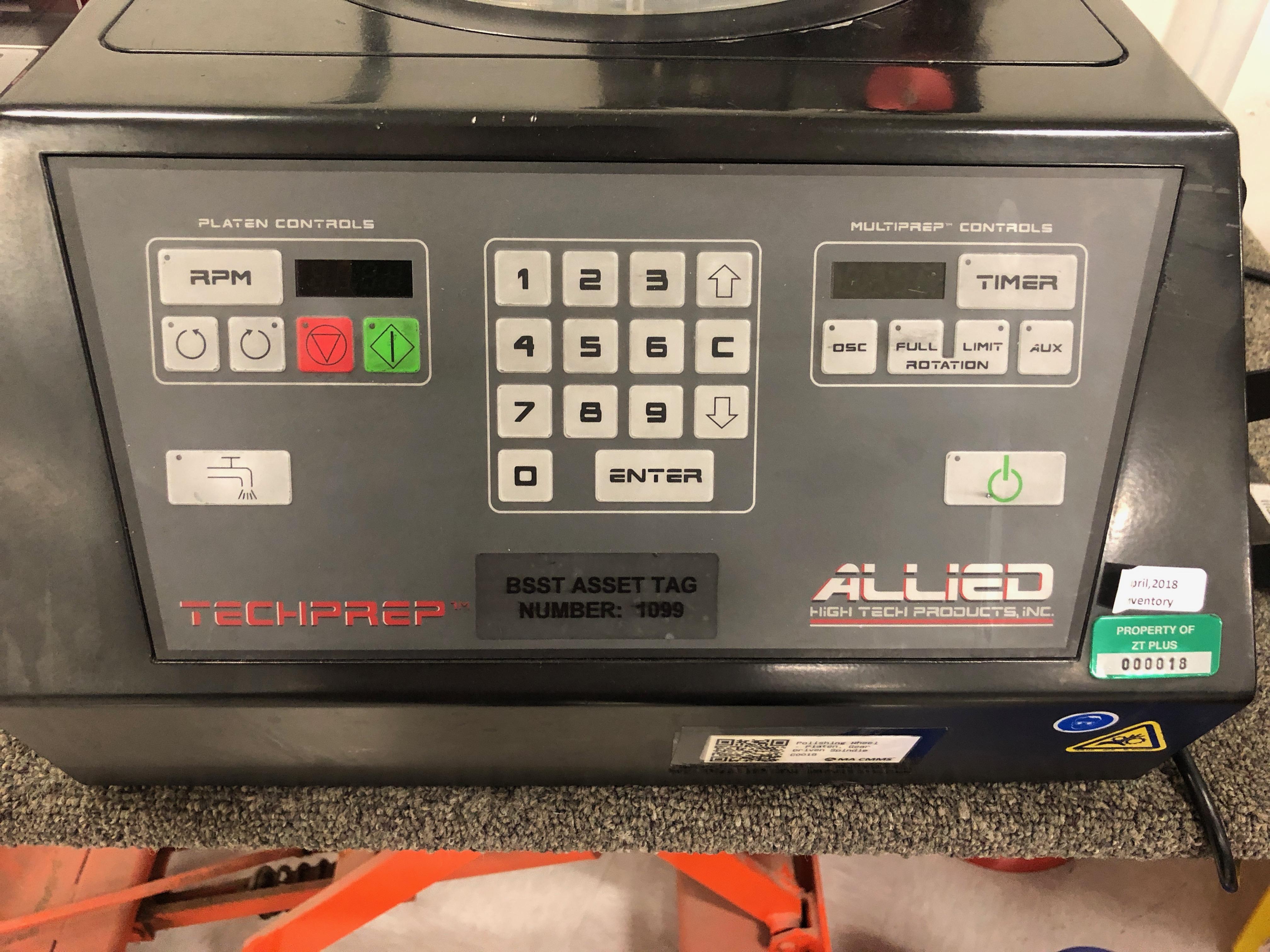 Lot 124 - Allied Multiprep Polishing system