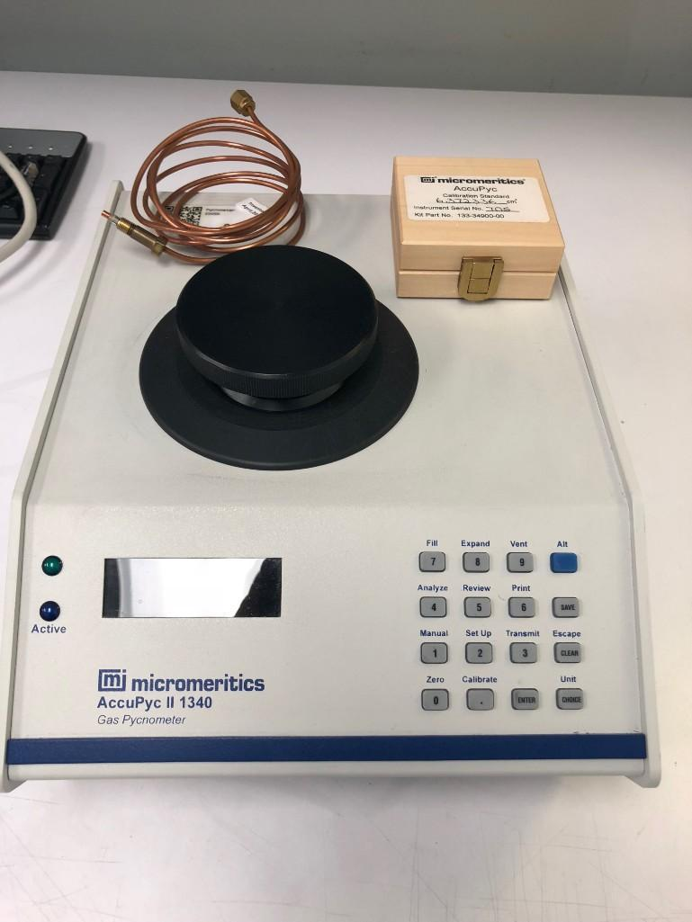 Lot 3 - AccuPyc II 1340 Gas Pynometer