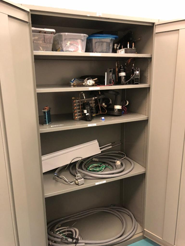 Lot 19 - Filling Cabinets (Contents Included)