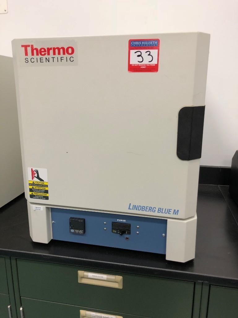 Lot 33 - THERMO SCIENTIFIC BOX FURNACE