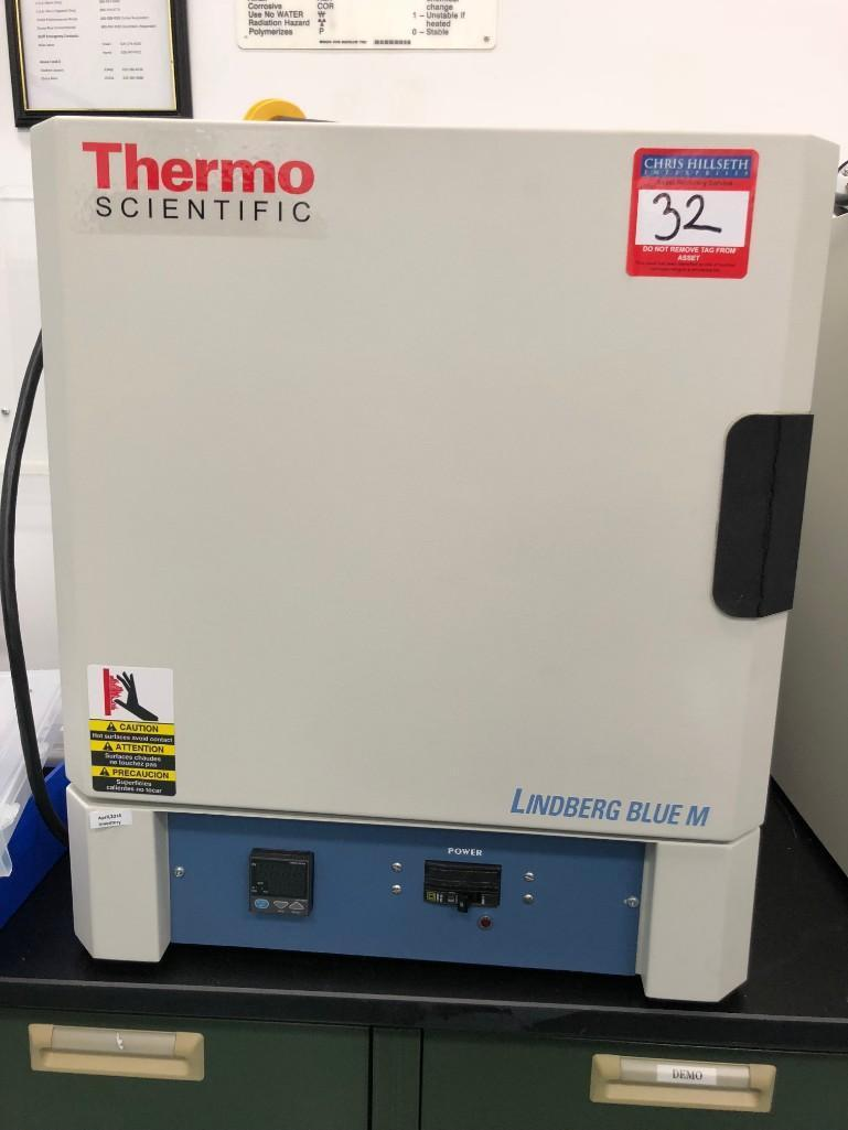 Lot 32 - THERMO SCIENTIFIC BOX FURNACE