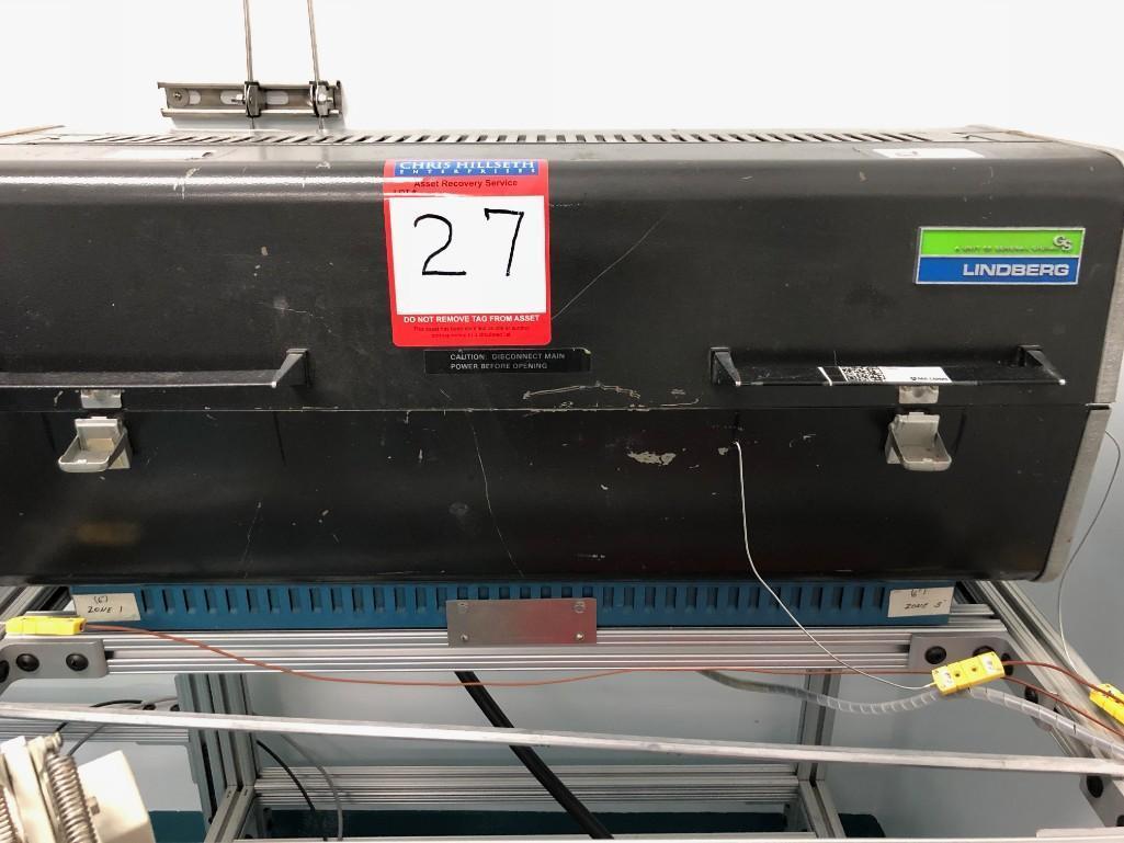 Lot 27 - Lindberg Glass Tube furnace