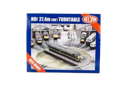 A Heljan OO/HO Gauge Turntable Set: ref no 89121